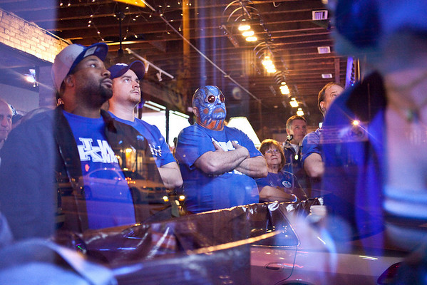 One last look through the front window of Big Blue Country revealed the heartbreak amongst fans as the UK season came to a premature end.