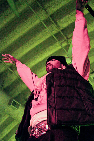 Wu Tang Clan served up a high energy show to a packed house at Expo Five on Wednesday night.