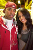 Terrence Chevy Revies and Mikesha Thomas came ready to party.