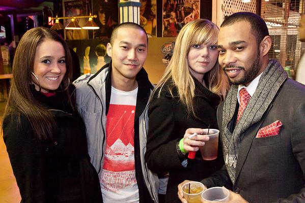 Rebecca Mattingly, Yao Hong, Aaron Williamson, and Pam Ellis were rocking the stylish look.