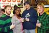 Nick Flynn, Jasmine Drollman, Derek Ruddell, and Drew Flynn grab a few brews.