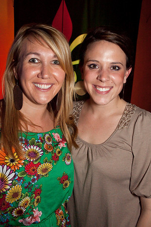Tiffany Fults and Abbie Gilbert came to party.
