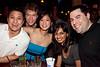 Allan Lam, John Gall, Bertina Lin, Jaimini Jodhani, and Justin Provost had a table near the bar.