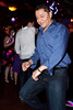 Armando Villalobos shows off his moves on the dance floor.