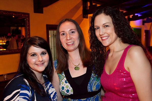 Wendy Smith, Erin Filipp, and Johnna Shipp had their own nook.