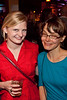 Maggie Henning and Sophie Maier know how to party,