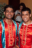 Deep Aggorwal and Gibin George of the dance team Jawani Bhangra were all smiles.