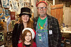 C.M., Grace, and Kelly Laster of LastersArtShack.com work the scene as a family.
