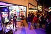 Karaoke is always a hit in front of the Doo Wop Shop.