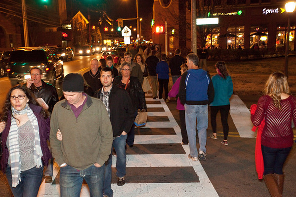 Various scenes and random faces in the crowd during the 27th Annual Bardstown Road Aglow on Saturday night.