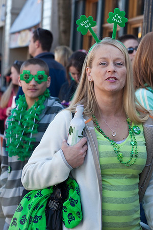 Everyone's Irish during the month of March.