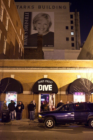 Nestled in the shadows of Fourth Street Live, Third Street Dive has quickly become a destination spot for regional indie bands and those who proudy shun the mainstream action a block away.