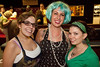 Trish Nohalty, Kelsey Schneider, and Meredith Keeley were all smiles during the roller derby action.