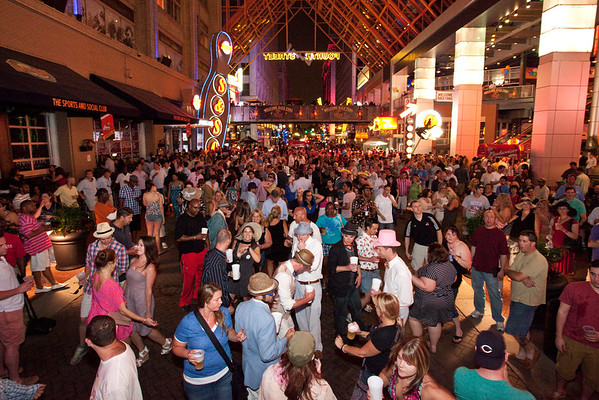 Scenes from Derby Night at Fourth Street Live 2012.