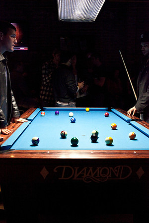 Diamond Pub & Billiards opened a new location in the old Jillian's site on Barret Avenue complete with multiple pool tables, a large bar area, and a dance floor.
