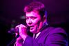 Vocalist Jack Garrett woos the crowd with his crooner renditions.