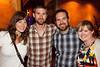 Courtney Kimes, Adam McGill, Tommy Reid, and Megan Reid keep the good times rolling.