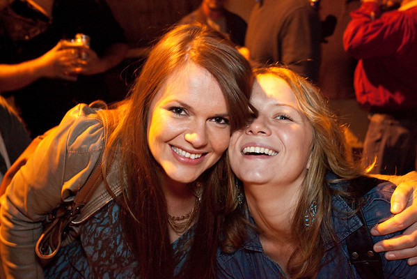 Kathleen Hayes and Priscylla Hennessey know how to party.