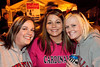 Vanessa Magee, Jessica Lipsey, and Kelly Durst enjoy the open air on the first night of Fall.