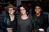 Rachel Ellis, jessica Weinstein, and Meredith Pass enjoy the open air of the NuLu District.