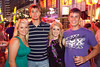 Courtney Jones, Cody Werncke, birthday celebrant Kaelin Jones, and Logan Eberle know how to party.