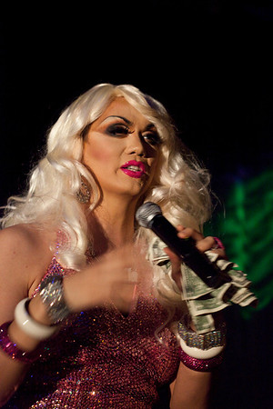 Manila Luzon of RuPaul's Drag Race performed two shows as part of her appearance as the featured act at the last installment of Hard Candy at Hotel Night Club.