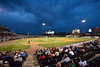 The conditions were beautiful as the 2012 season got started at Slugger Field.