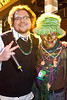 """Chris Tackett was the easy winner for """"most beads."""""""