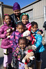 Ivory Johnson brought her daughters and neices along to enjoy a day of community gift sharing.