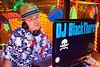 DJ BlackThorn handles his play list.