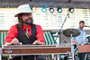 """The Black Lillies with their """"Americana via Appalachia sound"""" performed to a modest crowd on a sweltering night as Churchill Downs concluded its Paddock Concert series for the season."""