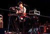 Popular Indie rockers The Shins played to a sold out audience at the Iroquois Amphitheater on Saturday night.