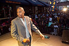 Harlon Robinson of Louisville radio station Magic 101.3 kept the crowd warmed up before the show.