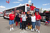Cards PF Bus rolls in for another day of tailgating.
