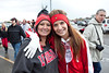 Various scenes and random faces in the crowd during a morning of rainy tailgating at Papa John's Stadium for the UofL vs Temple game.
