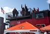 Random scenes from UofL vs UCONN football tailgating at Papa John's Stadium .