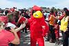 The Cards March is a highlight of tailgating for the gushing fan base.