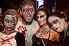 Various scenes and random faces in the crowd at the 8th Annual Zombie Attack! in the Highlands.