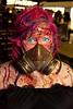 Jennifer Casebolt is a well-prepared zombie.