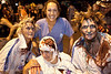 Elaine Stoll, Peggy Thompson, Meredith Thompson, and Alane Baker were zombies with medical attention.