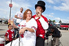 Scenes from the tailgate wedding between Vonnie Evans and Jeffrey Miller inside the Fairgrounds on Saturday.