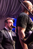 Joey Fatone joind DMC for a rousing rendition of Walk This Way.