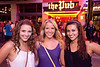 Annie Gembrowski, Claire Gembrowski, and Andrea Arellano were hanging out backstage.