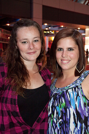 Ashley White and Jaclyn Stotts were on the scene.