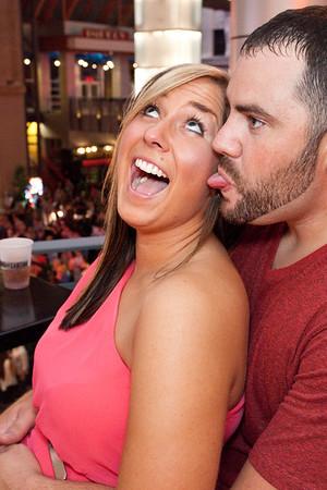 Whitney Atcher and Sean Konwinski know how to party.