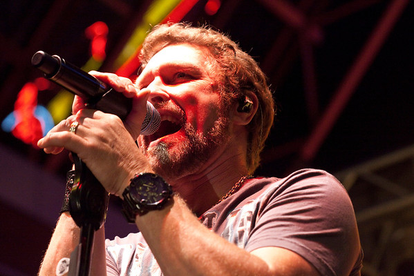 Headliner Craig Morgan takes the stage and gives the crowd what they want.