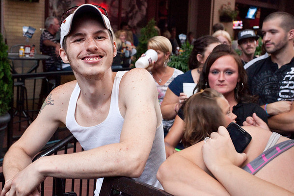 Random scenes and faces in the crowd at the last installment of Hot Country Nights at Fourth Street Live.