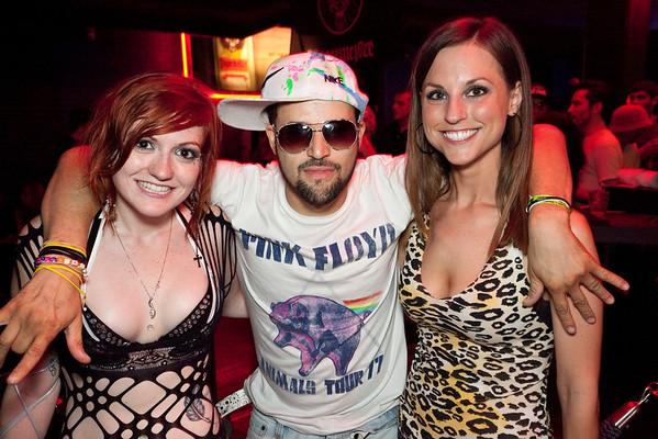 Alexandria O'Daniel, Sammy Lackey, and Brooke Mattingly know how to party.