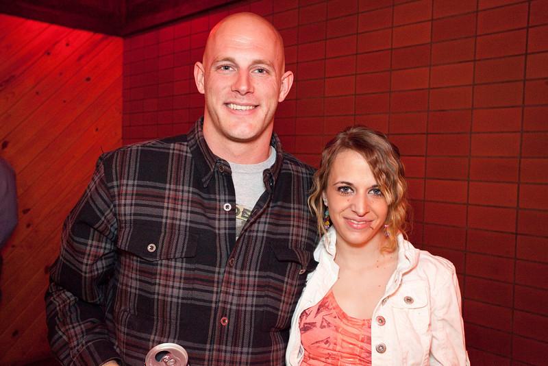 Steven Group of Nebraska joined Jessica Payne for the photo opp.