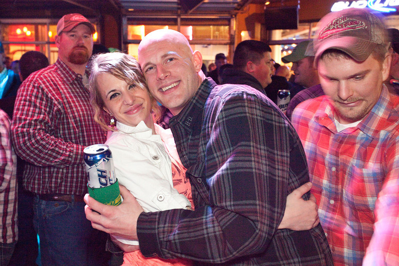 Various scenes and random faces in the crowd at PBR during the Farm Machinery Show.